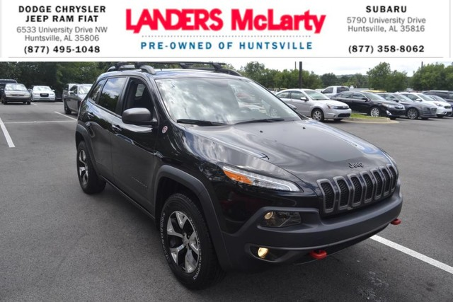 PRE-OWNED 2016 JEEP CHEROKEE TRAILHAWK FOUR WHEEL DRIVE SUV