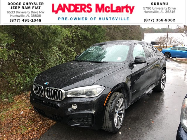 Pre Owned 2015 Bmw X6 Xdrive50i Suv In Huntsville F0f93852