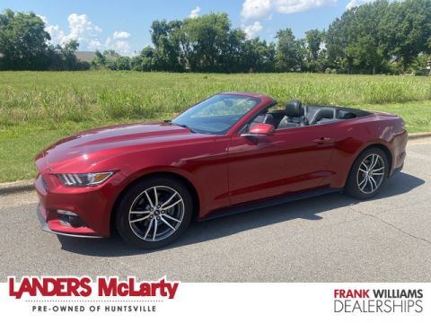 Pre-Owned 2016 Ford Mustang EcoBoost Premium Rear Wheel Drive Convertible
